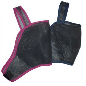 Fly Mask - Pink and Blue