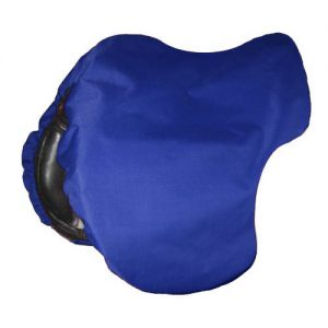 Saddle Cover Canvas Navy Blue